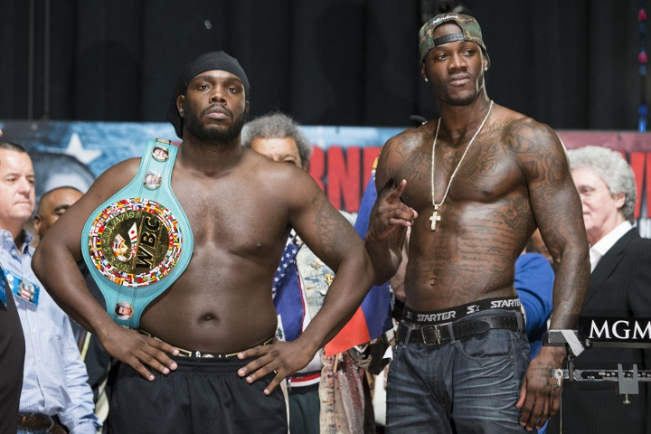 Deontay Wilder says mandatory challenger Bermane Stiverne will 'get it'