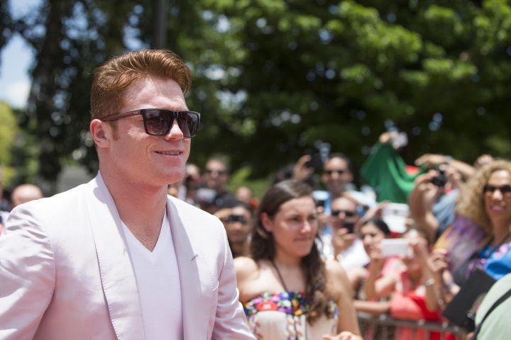Canelo Alvarez hit with six-month suspension for positive drug test