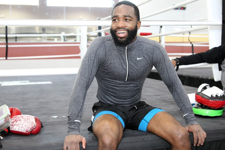 Adrien Broner Posts Cryptic Messages Involving Gun on Instagram