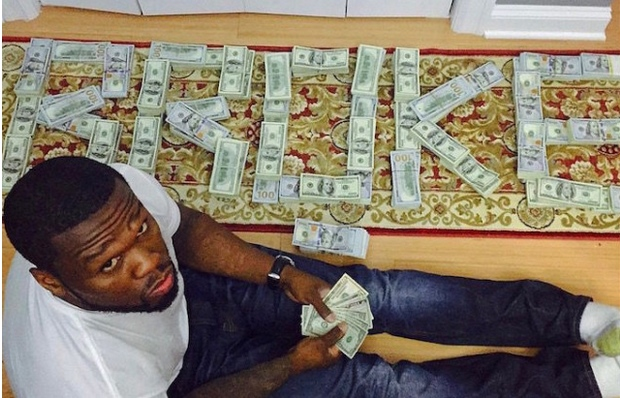 Bankrupt 50 Cent ordered to court after flashing cash on Instagram