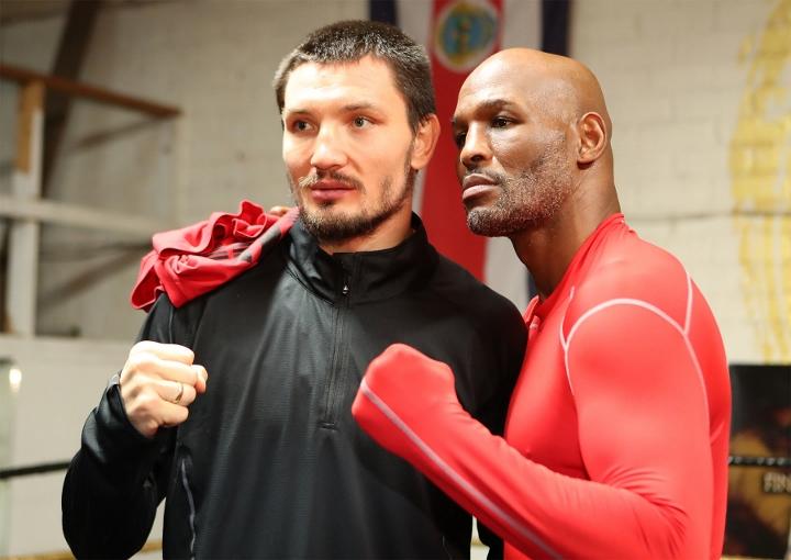 Вячеслав Шабранский и Бернард Хопкинс. Фото: boxingscene.com