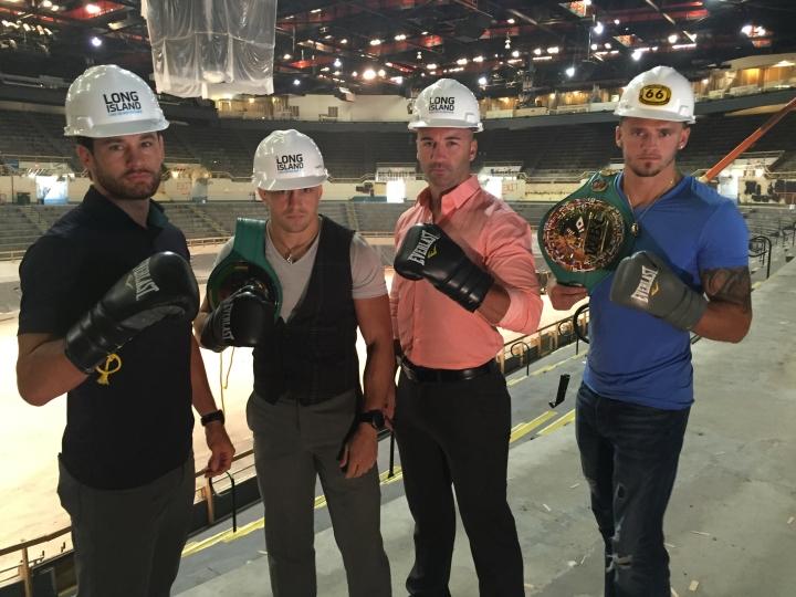 LI Boxers at Nassau Coliseum