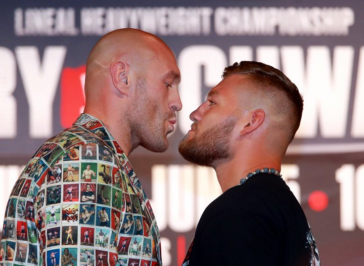Pros react to Tyson Fury defeating Tom Schwarz by TKO