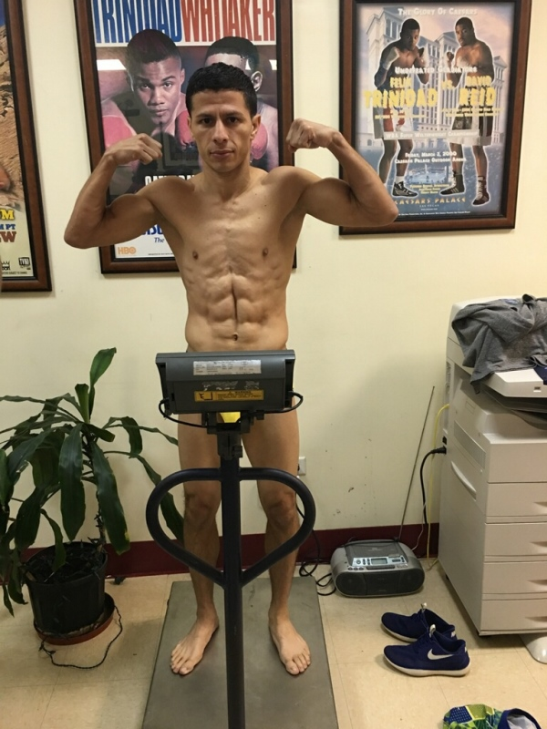 McWilliams Arroyo WBC 7-day weigh in 2