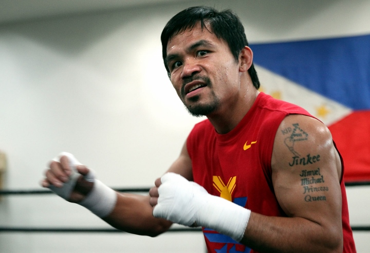 Manny Pacquiao ready to fight