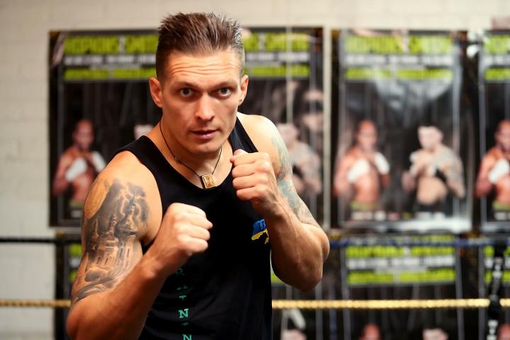 Александр Усик / boxingscene.com