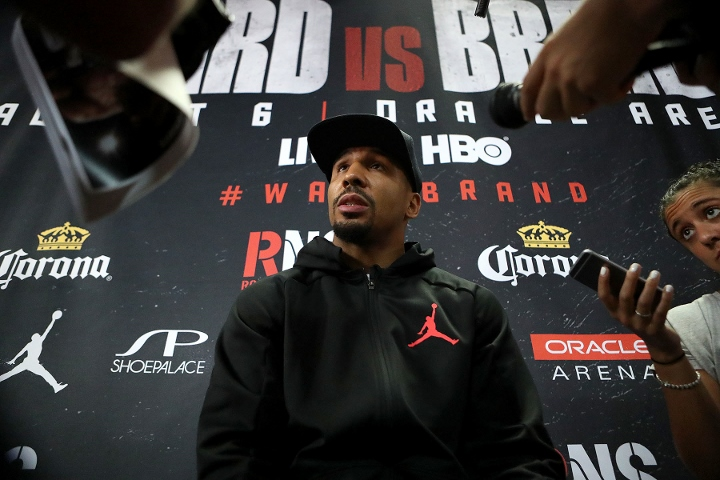 Ward easily outpoints Brand to set up fight with Kovalev