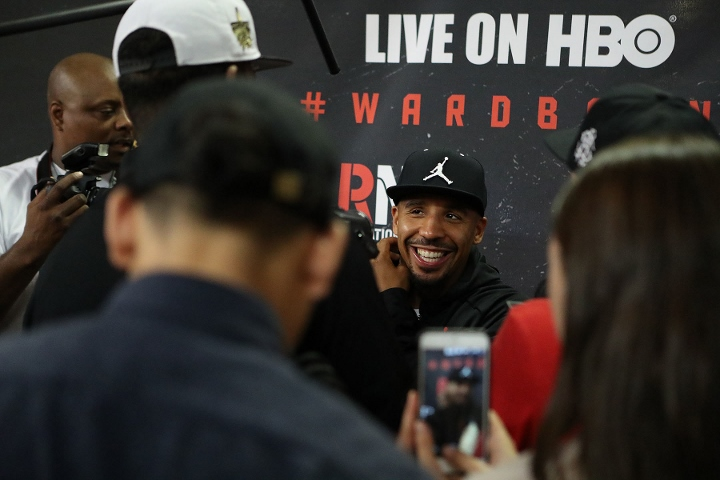 Andre Ward is gunning for Sergey Kovalev's world titles