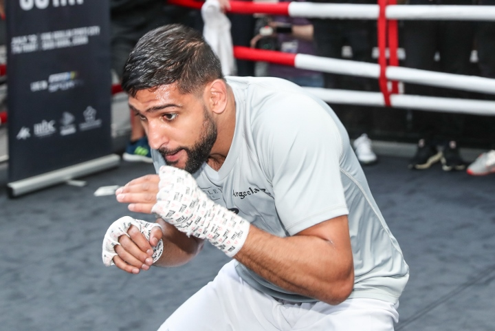 Amir Khan wants to fight Manny Pacquiao or Kell Brook before retirement