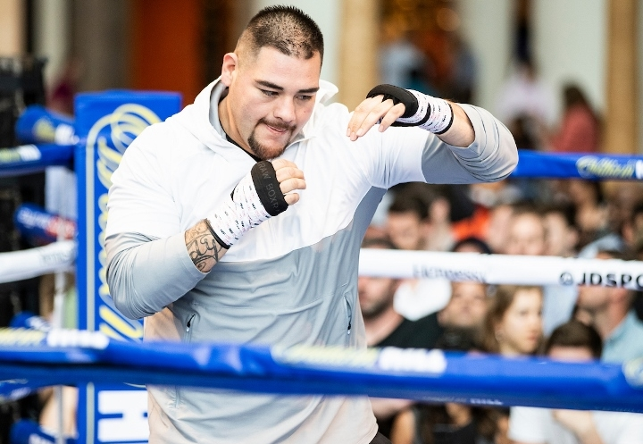 Ruiz hoping extra pounds make difference against Joshua