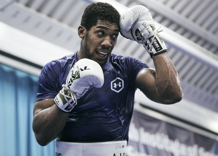 Anthony Joshua ready for redemption against Andy Ruiz Jnr in desert dust-up