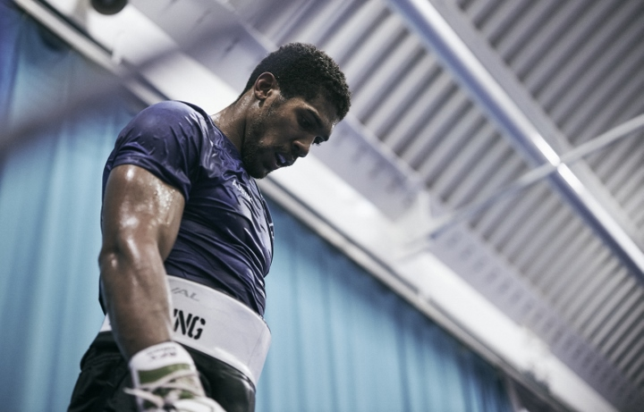 Anthony Joshua: 'It's been about being confident'