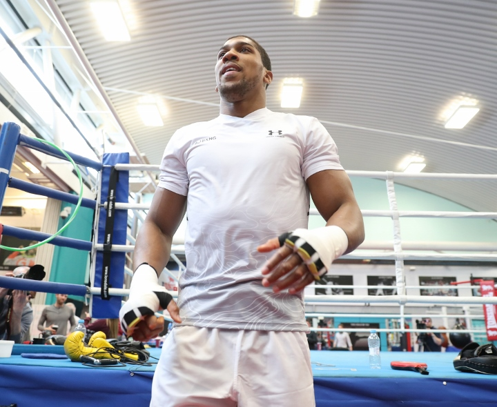 Anthony Joshua vows to break Joseph Parker's spirit and mentality