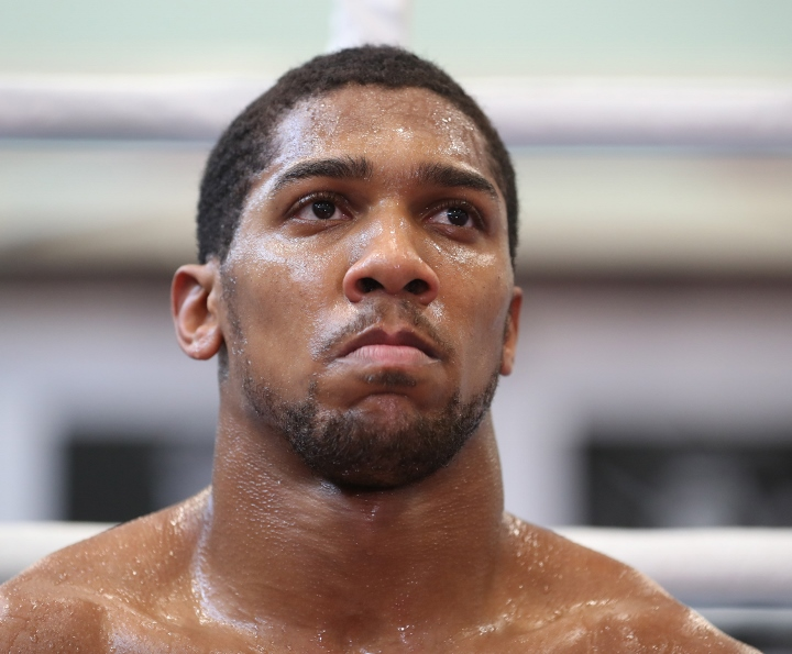 Anthony Joshua driven by fear of losing ahead of Joseph Parker clash