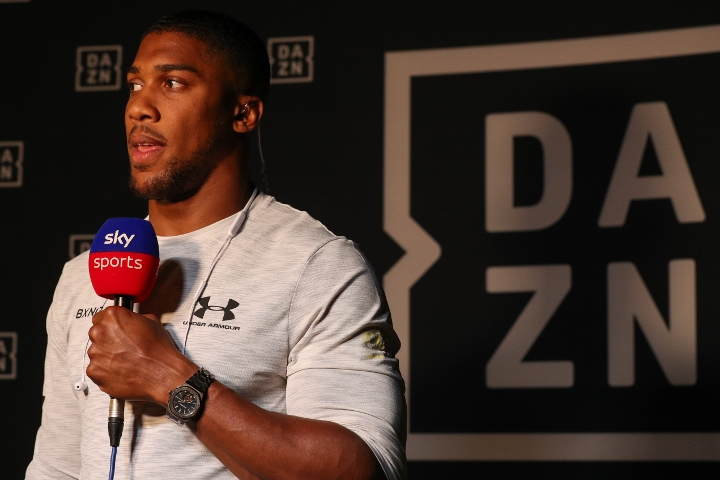 Anthony Joshua reveals the opponent he originally wanted this weekend