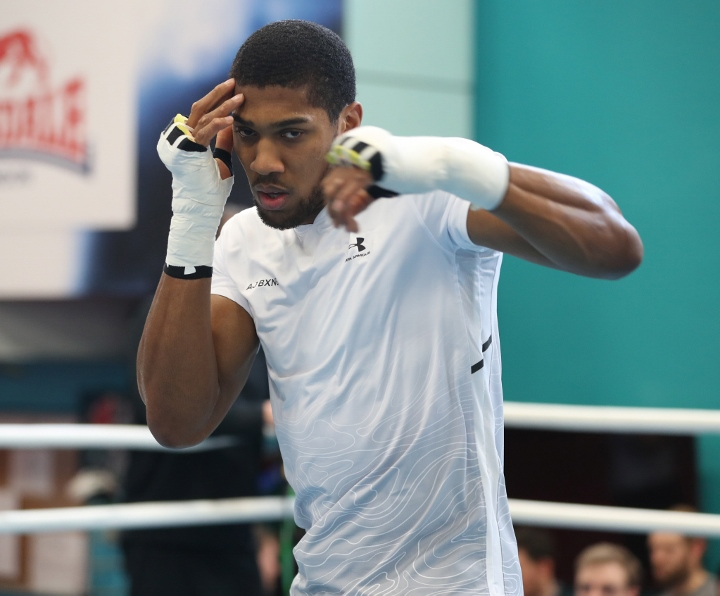 Anthony Joshua promises blood, ahead of Joseph Parker fight