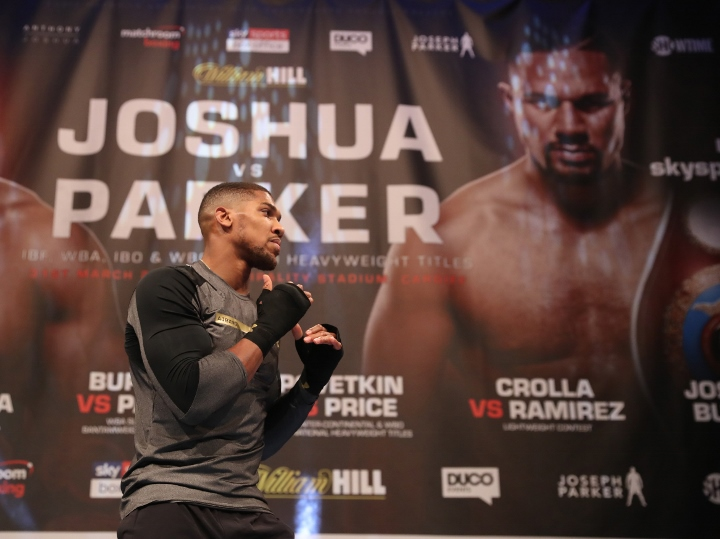 Gov. Amosun, Lai Muhammed to watch Anthony Joshua fight