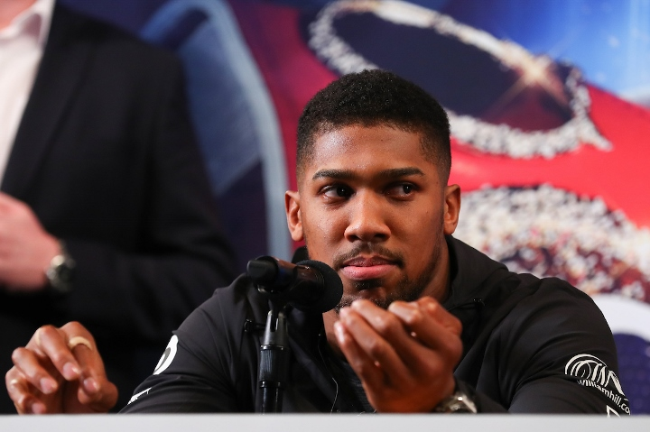 Barry Hearn makes astonishing claim regarding Anthony Joshua and Deontay Wilder