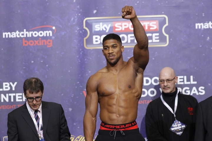 Anthony Joshua Would Still Like To Stage a Fight in Africa ...