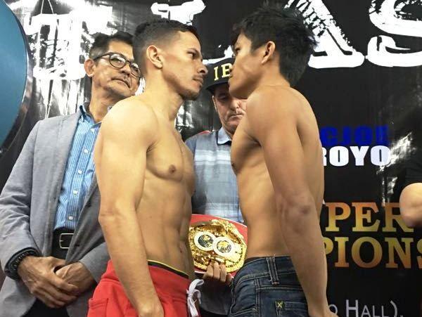 Arroyo Drops IBF 115 Pound Title in Manila