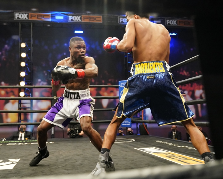 Photos: Travon Lawson Stuns Angel Barrientes, Takes Him Out in Four -  Boxing News