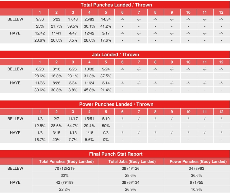 bellew-haye-compubox-punch-stats