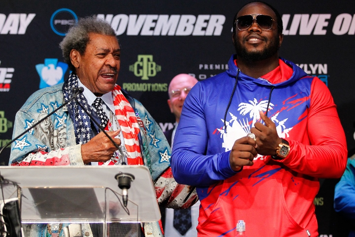 Don King Tips Bermane Stiverne To Upset Deontay Wilder