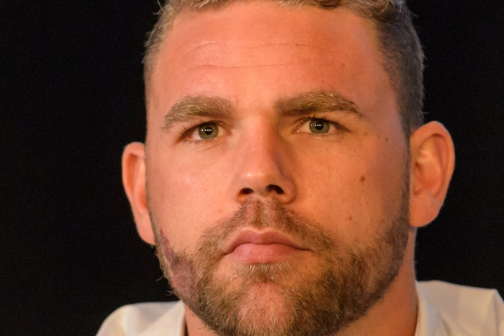 Britain's unbeaten Billy Joe Saunders vacates middleweight crown