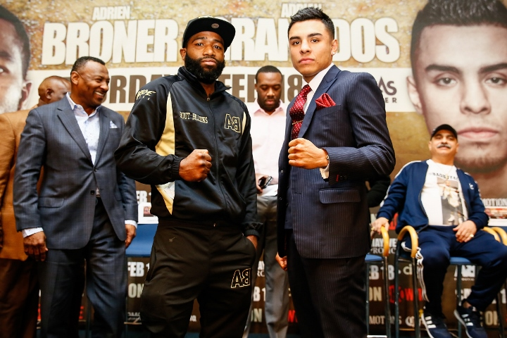 Broner back with narrow win