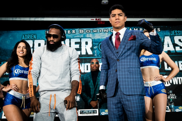 Adrien Broner And Jessie Vargas Fight Ends In Draw