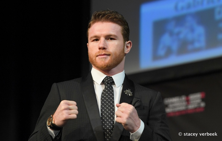 d32f09998cfee4 Photos  Canelo vs. Golovkin Rematch - Final Press Conference ...