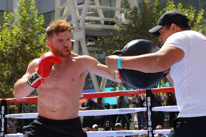 Canelo Alvarez, Gennady Golovkin draw distinction between title fight and Mayweather-McGregor