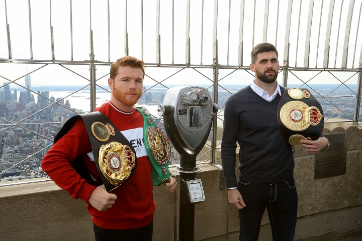 Boxer Alvarez signs N131bn deal, richest contract in sports history