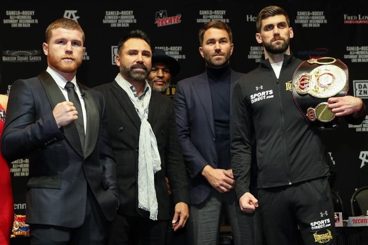 2018年12月16日WBA拳赛 阿瓦雷兹vs菲尔丁 直播[视频] CANELO vs. ROCKY