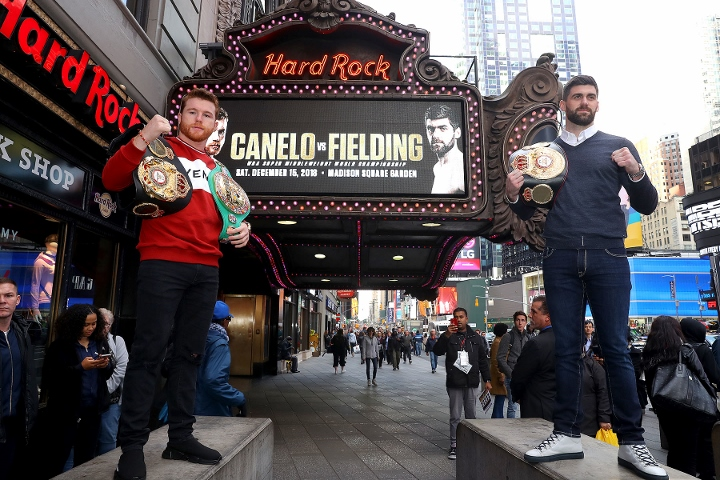 Rocky Fielding ready for 'torturous' camp ahead of Canelo Alvarez fight
