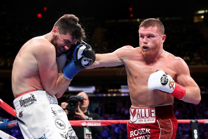 Photos: Canelo Alvarez Demolishes Fielding - MONSTER Gallery - BoxingScene.com