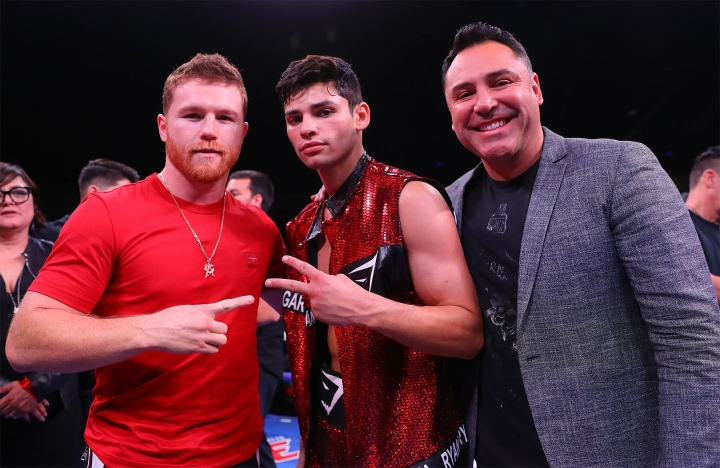 De La Hoya, Garcia, Canelo, Reynoso Have Newfangled Relationships To  Navigate - Boxing News