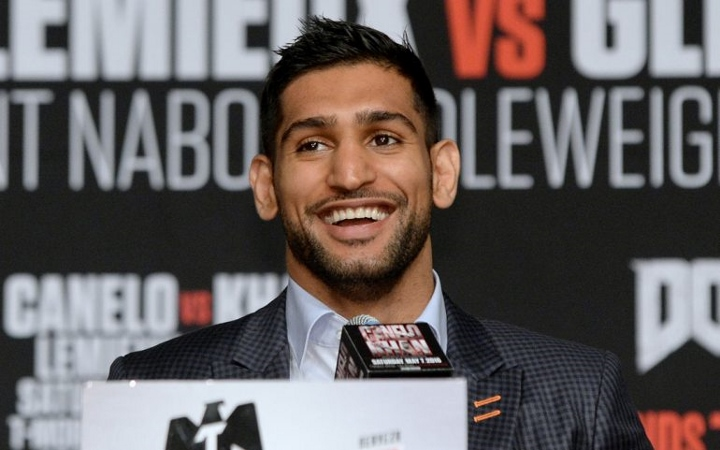 Unexpected Fighter Lets Slip That He Could Be Amir Khan Comeback Opponent