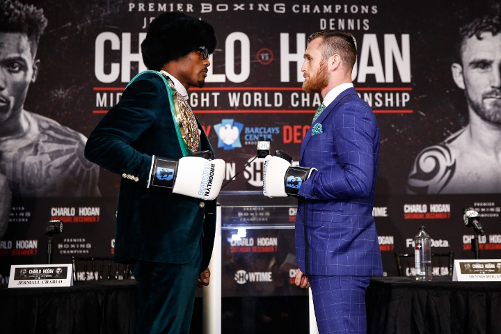 What Time is Jermall Charlo v Dennis Hogan and HOW TO WATCH