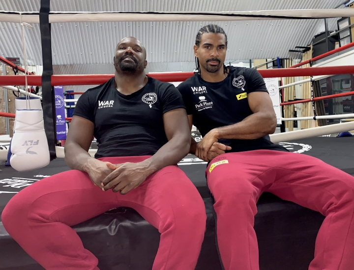 Chisora signs deal to be managed by former rival Haye