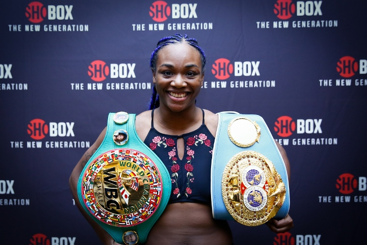 Pre-Fight Videos: Claressa Shields vs. Tori Nelson - Christina Hammer Talks about fighting Shields