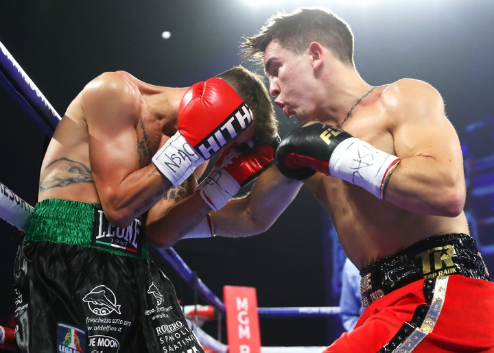 Michael Conlan Destroys Italian To Win 9th Pro Fight