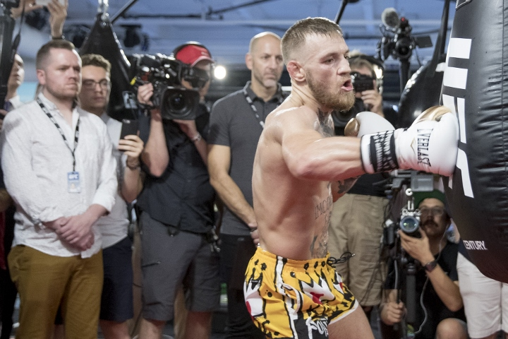 McGregor wins if fight goes the distance