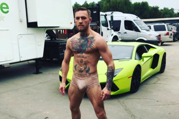 Mcgregor Warns Mayweather He Break His Face 112063 on Star Shape With Colour