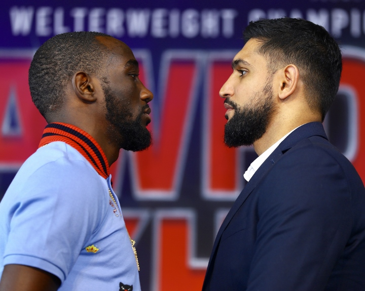 Quotes Crawford and Khan Face Off in New York City