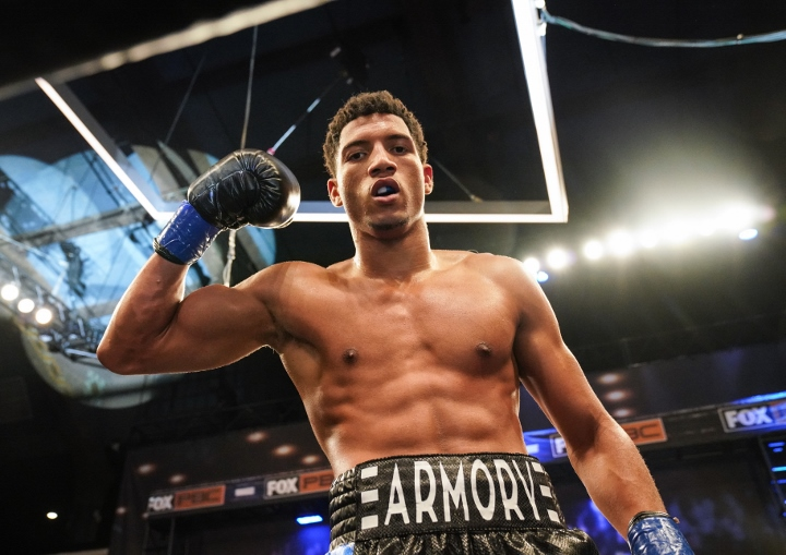 David Morrell Aims To Fight Four Times By...