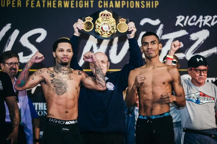 2019年7月28日WBA拳赛 戴维斯vs努内兹 [视频] DAVIS vs. NUNEZ