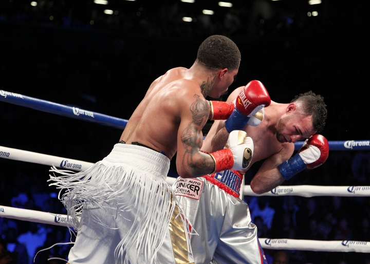 James DeGale praised for heroics after Badou Jack fight ends in draw