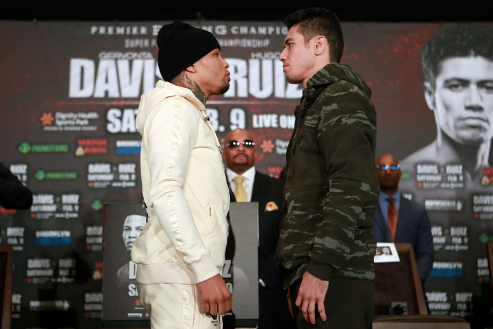 Gervonta Davis vs. Hugo Ruiz final Press Conference Images and photos
