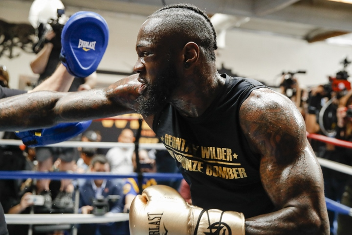 Flossing Wilder 'transformed into a killer' for Fury showdown